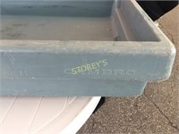 Cambro Insulated Drink Tubs w/ Drain - 64 x 27 x