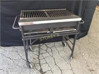 "~34"" Propane BBQ on Wheels"