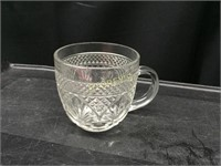 20 Flat Bottom Glass Punch Cup