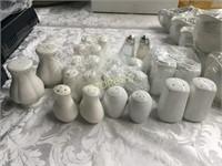 13 Asst Sets of Salt & Pepper Shakers