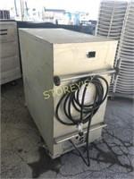 Mobile Propane 5 Shelf Oven - 45 x 25 x 53