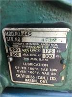 DeVilbiss 15hp Air Compressor