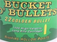 "(1400 rds. Ammo) 22 Remington ""Bucket of Bullets"""