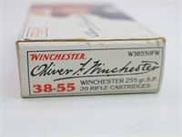 (20 rds. Ammo) Oliver Winchester 38-55 255 Gr.