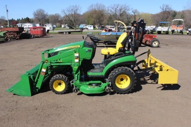 2017 John Deere 1025R Diesel Lawn Tractor