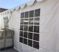 8' x 20' French Window Sidewall