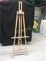 Wood Folding Easel - 22 x 70