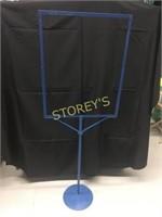 New Blue Pedestal Sign - 22 x 28