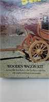 Stagecoach wooden wagon kit
