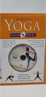 Simply yoga book and DVD