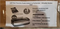 Power Smokeless Grill XL Deluxe