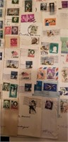 Canceled Stamp collection