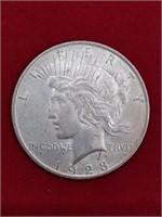 KEY DATE 1928 Peace Silver Dollar RARE