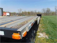 2005 Transcraft 54 foot drop deck aluminum trailer