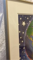 Peace on Earth Print Signed by Peter Max
