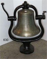 LARGE STEAM ENGINE BELL