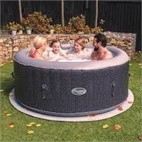 CleverSpa® Cannes 4 Person Round Hot Tub