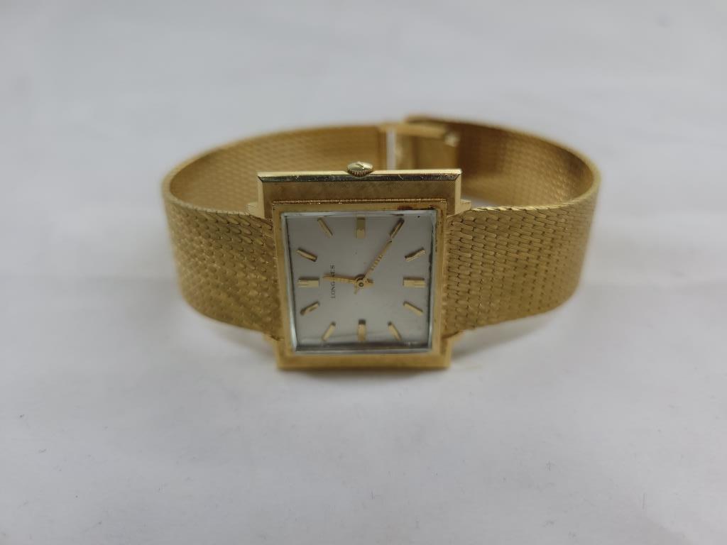 14K longines watch, 1.94oz