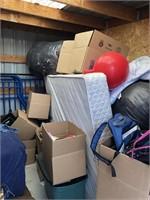Contents of 8''x10' TF Budget Storage Unit #F11
