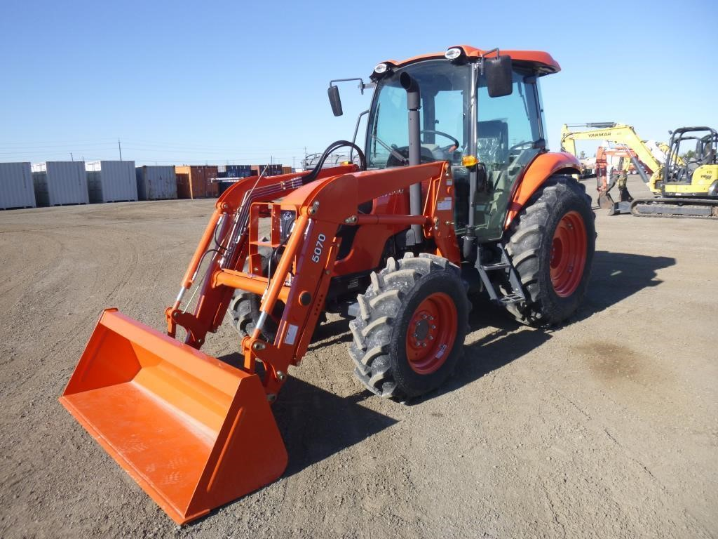 2019 Kubota M7060D Utility Tractor