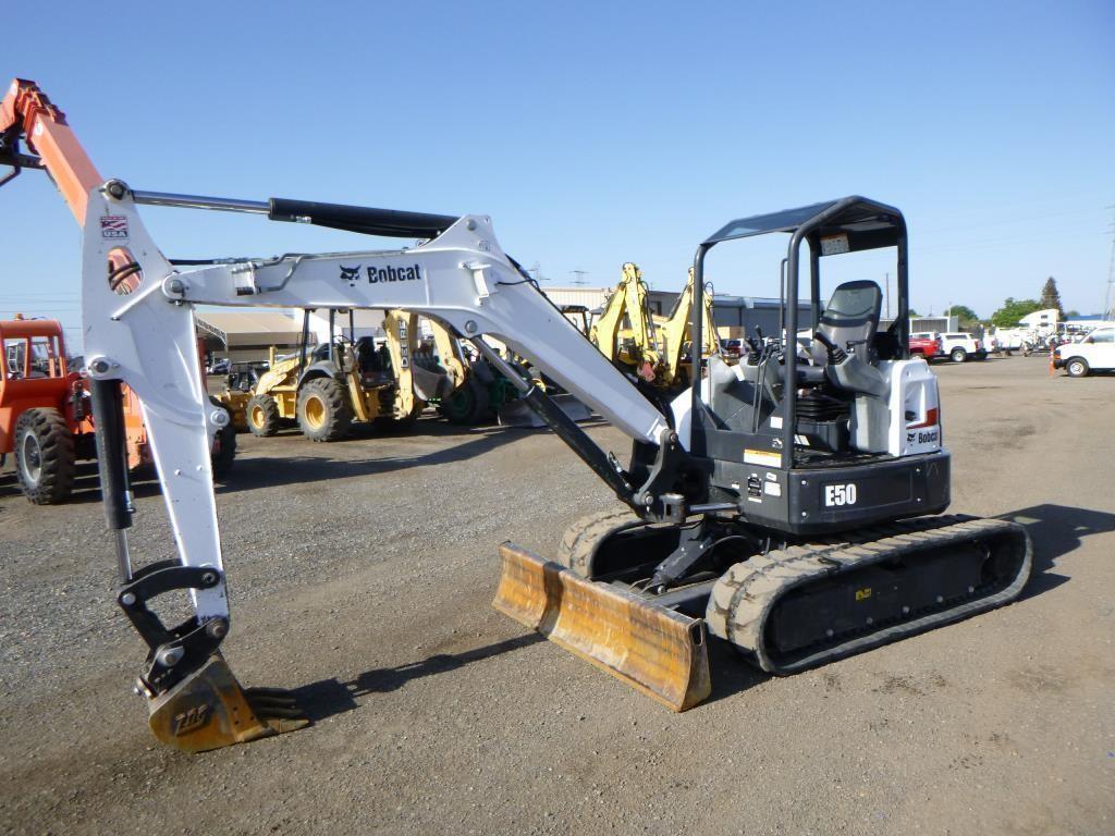2017 Bobcat E50 Hydraulic Excavator