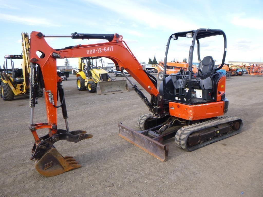 2016 Kubota U35-4 Hydraulic Excavator