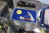 CSX TRANSPORTATION 10TH ANNIVERSARY KNIFE SET