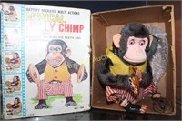 MUSICAL JOLLY CHIMP IN BOX - DAMAGE