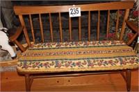 Ethan Allen Wooden Kitchen Bench
