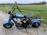 1958 Cushman Eagle Scooter