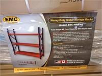 EMC HEAVY-DUTY METAL STORAGE RACKS