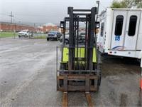 UPDATE* CLARK 5000lb Propane Forklift