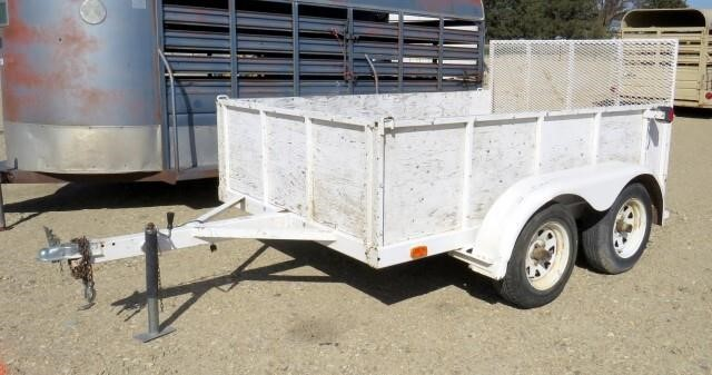N-383 1998 EZ Load Utility Trailer