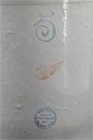 Scarce Circle Stamp Redwing 5 Gallon Crock
