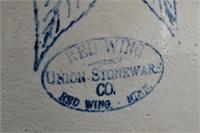 Red Wing Union Stoneware Birch Leaf #10 Crock..