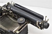 Small Antique CORONA Typewriter w/ Wood Spacer