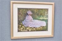 """Springtime"" Claude Monet Print"
