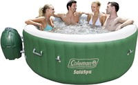 Coleman SaluSpa Inflatable Hot Tub Spa Green