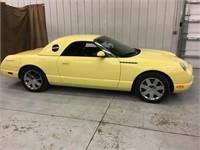 2002 Ford Thunderbird Convertible 14,380 Original