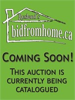 Online Auction for Mr & Mrs McMillan - June 12-16/21