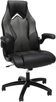 High-Back Racing Style Gaming Chair, Grey