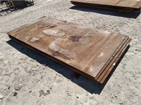 (13) PCS OF CARBON STEEL PLATE