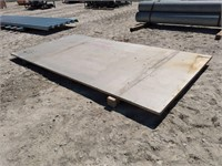 (1) PC OF STAINLESS STEEL PLATE