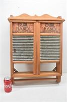 Double Dandy Washboard Cabinet & Towel Holder