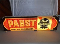 Pabst Blue Ribbon Beer, Lighted Sign
