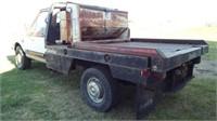 1987 F250 4x4 pickup with DewEze hay bed