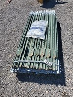 200- 6ft high T-posts with clips