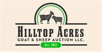 Hilltop Acres Goat & Sheep Auction-May 15th, 2021