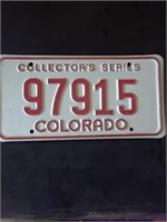 Large License Plate Auction