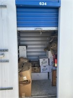 MAY ONLINE STORAGE AUCTION
